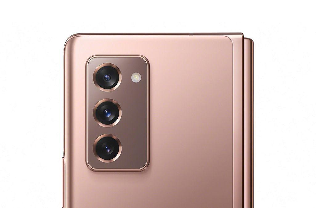 Galaxy Z Fold2 5Gの背面カメラ