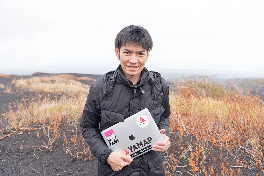 ヤマップ東京支社 営業部長の原山岳士さん