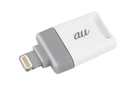 au+1 collection Lightning microSD カードリーダーライター