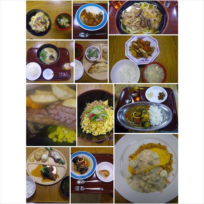 南極・昭和基地の食堂で提供された食事