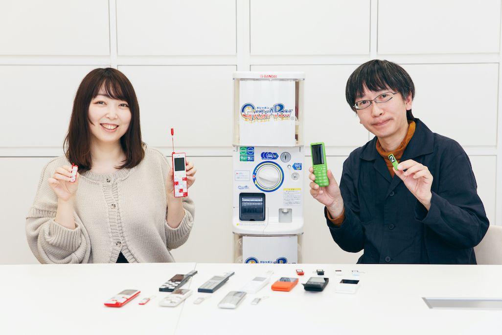 バンダイ ベンダー事業部 荒川裕子さんとKDDI 5G・xRサービス戦略部 砂原 哲