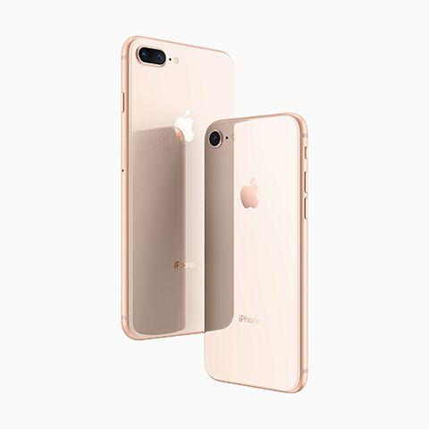 ゴールド派なら iPhone 8