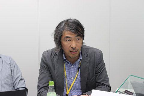 DOLBY JAPAN マーケティングジャパン ディレクターの中山郁夫さん