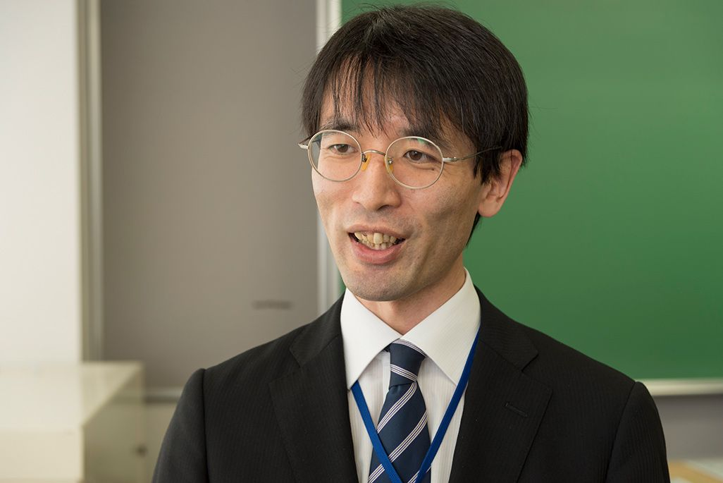 授業を担当した永澤一久先生