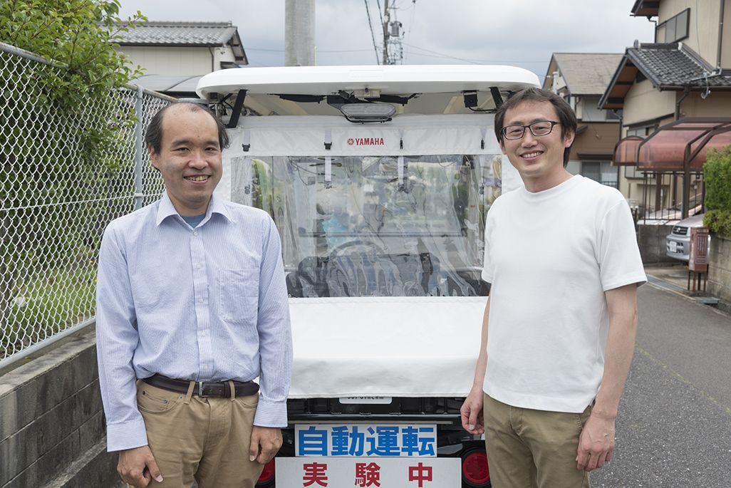 名古屋大学COI 赤木康宏さん、金森 亮さん