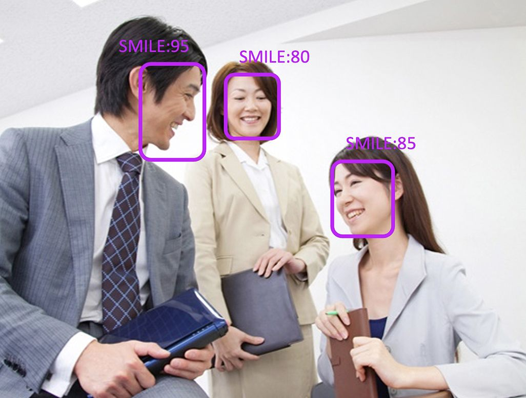 KDDIの表情認識AI技術