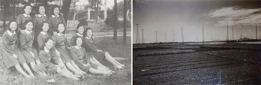 昭和初期の八俣送信所の写真