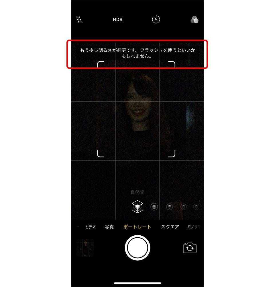 iPhone ポートレートモード 苦手な被写体