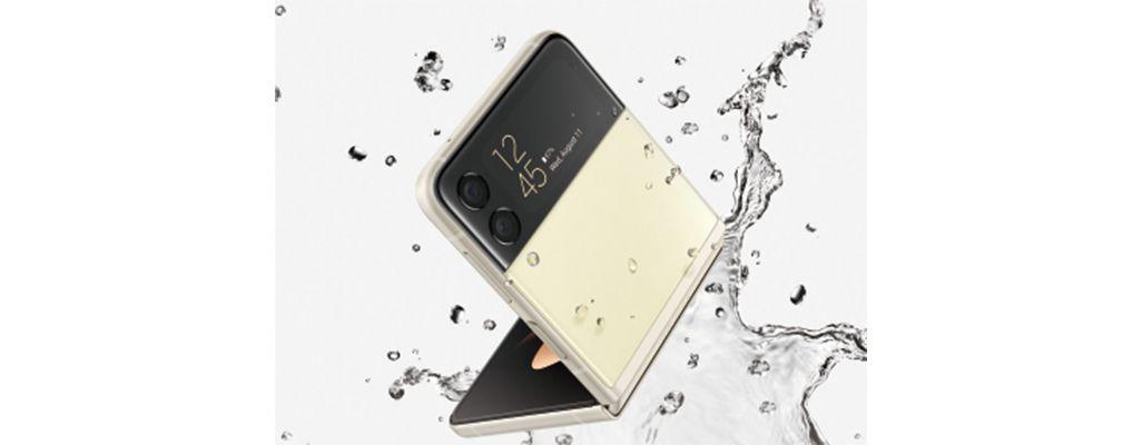 Galaxy Z Flip3 5Gは防水仕様に