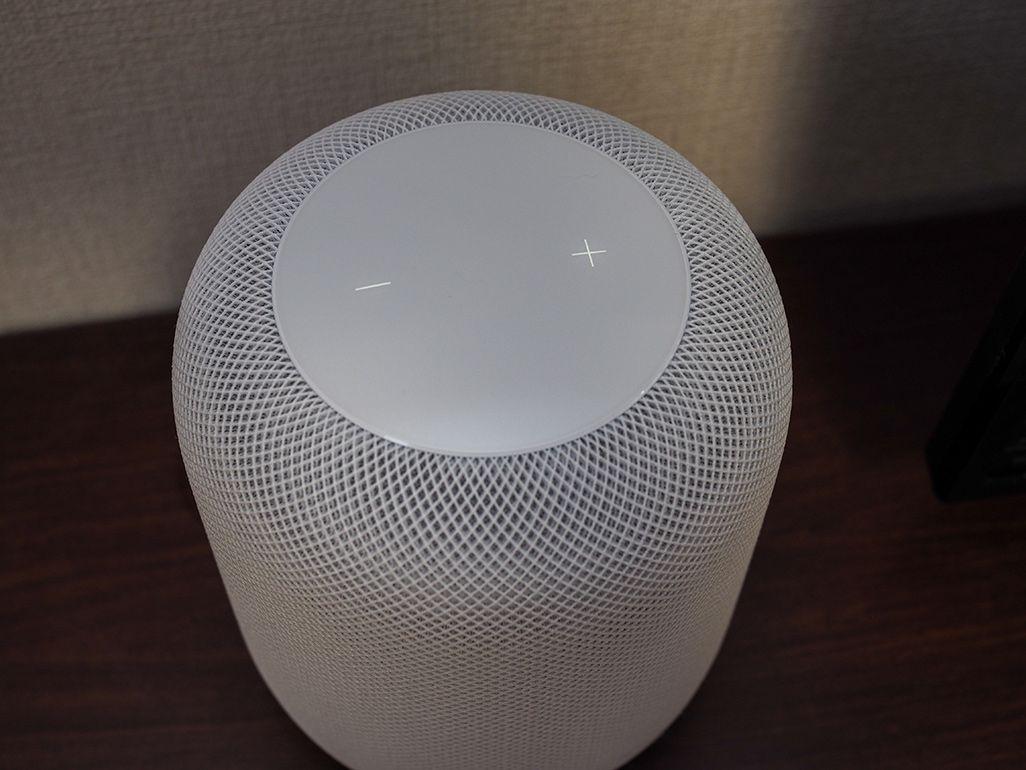 Apple「HomePod」のタッチセンサー