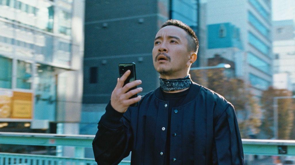2021年お正月CMで渋谷に佇む金太郎