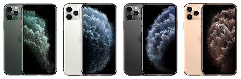 iPhone 11 Proのカラーバリエーション
