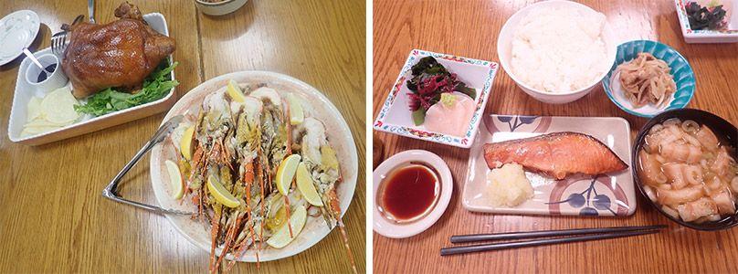 南極昭和基地の隊員たちの食事
