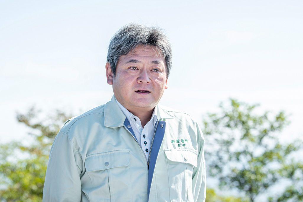 御殿場市役所・前田裕三さん