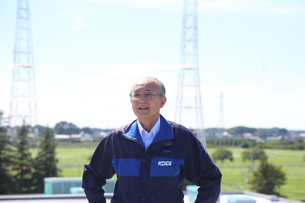 KDDI技術統括本部 八俣送信所マネージャー 堀江 孝