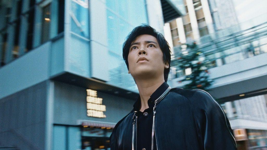 2021年お正月CMで渋谷に佇む浦島太郎
