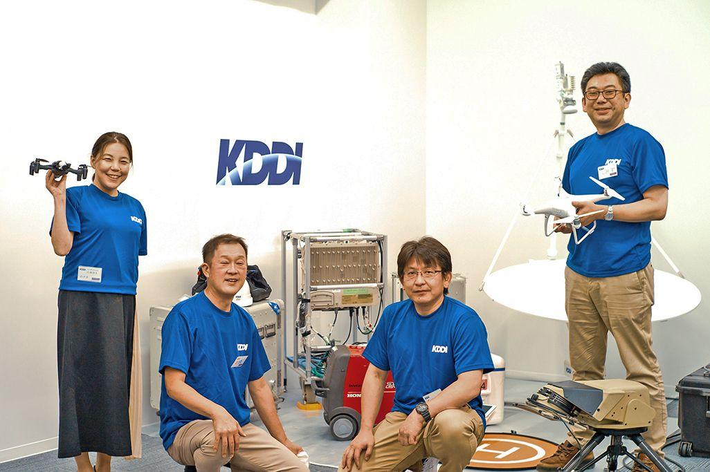 「KDDIエンジニアの仕事」のスタッフたち