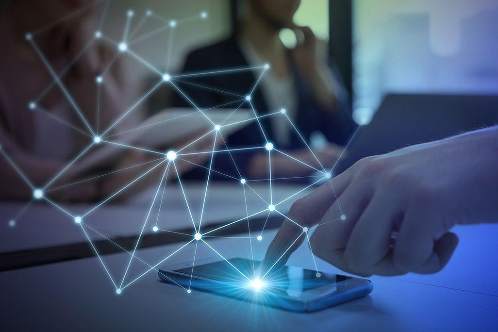 Bluetoothメッシュネットワークのイメージ
