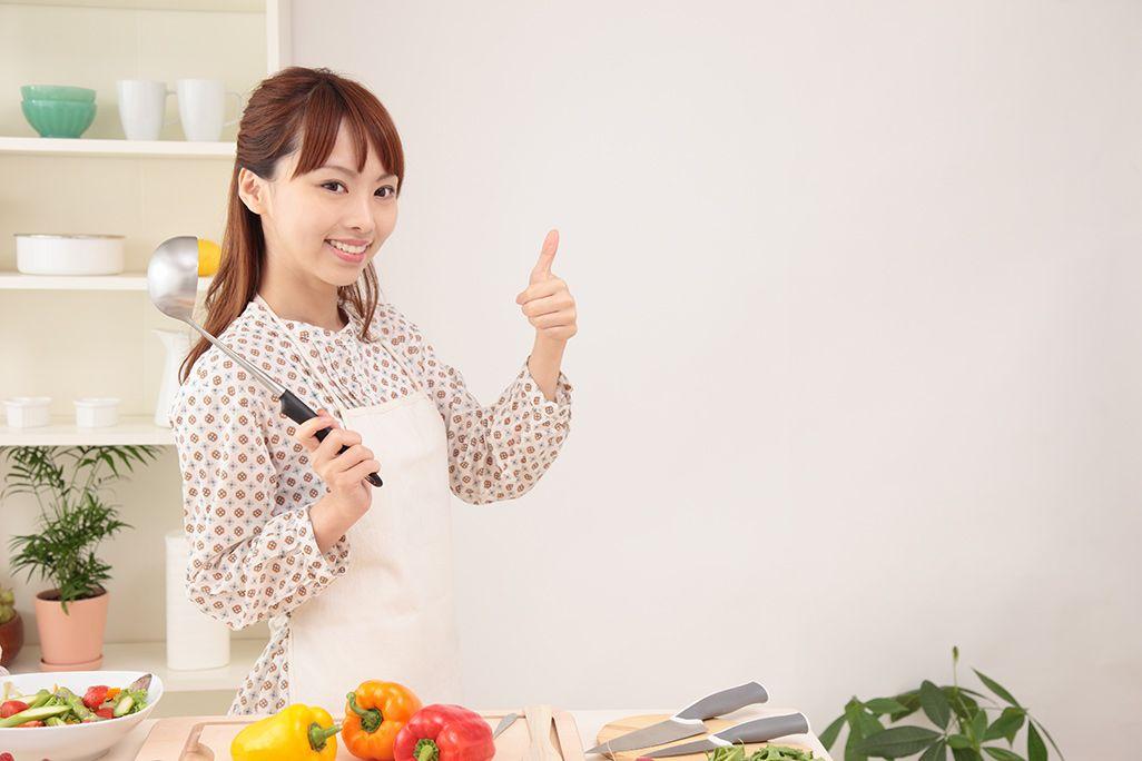 料理をしながら家電を制御