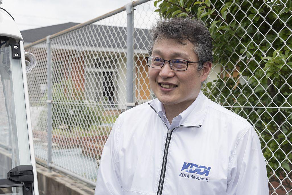 KDDI総合研究所 コネクティッドカー2グループ 大岸智彦