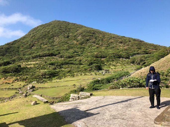 野崎島のエリア調査の模様