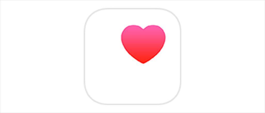 「ヘルスケア」アプリ
