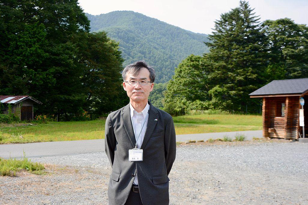 伊那市 企画部長 飯島 智さん