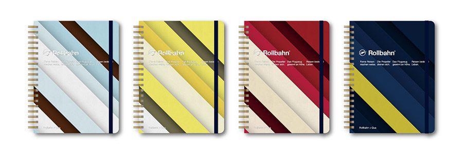 「Quaシリーズ」の「Rollbahn」オリジナルノート