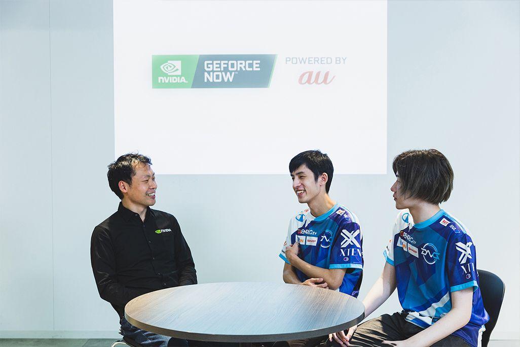 NVIDIA鈴木悠里さん、プロゲームプレイヤーのミリンケーキ選手、ku選手