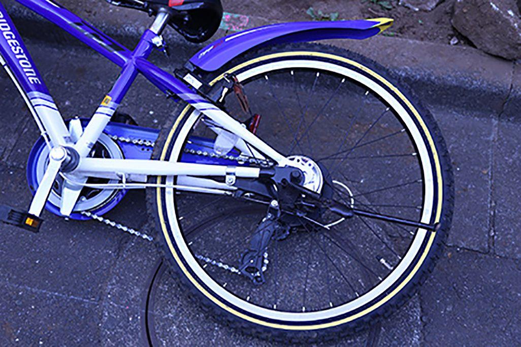 自転車事故のイメージ