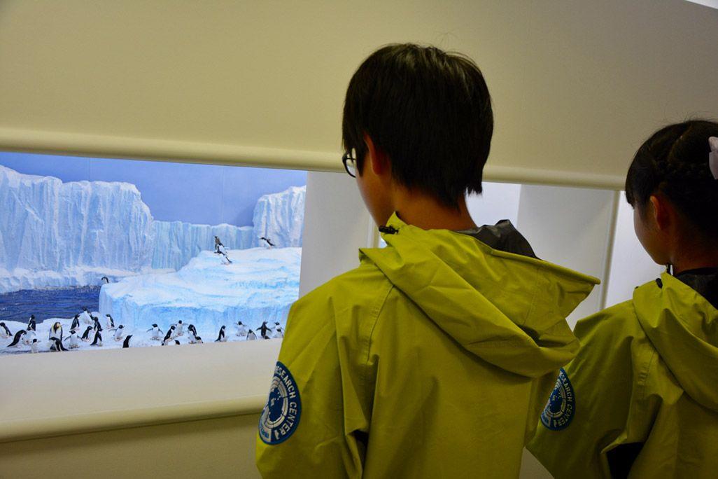 キッザニア東京の南極研究所