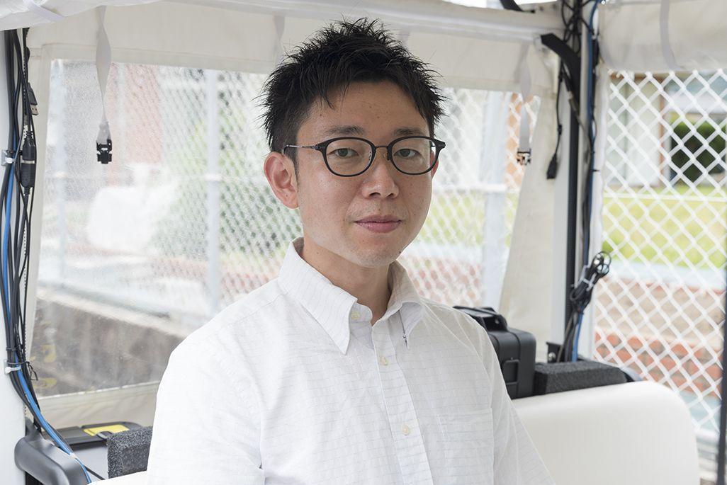 春日井市 まちづくり推進部 都市政策課 津田哲宏さん