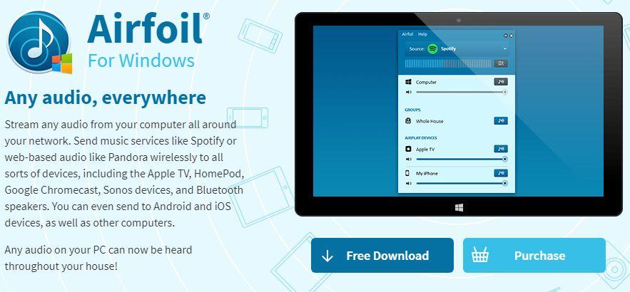 アプリ「Airfoil」の画面