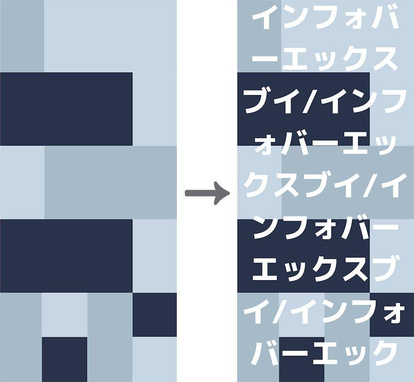 文字を乗せてカスタマイズしたINFOBAR壁紙