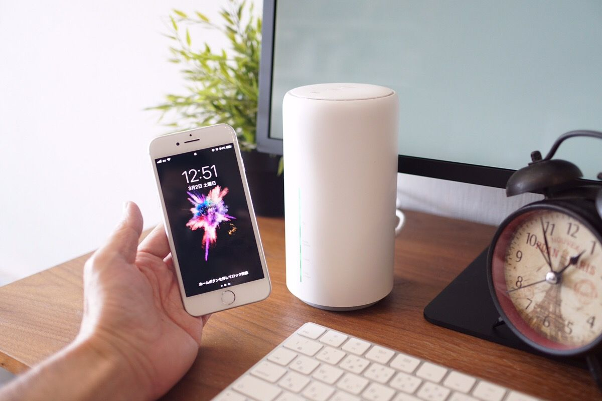 auのホームルーター「Speed Wi-Fi HOME L02」