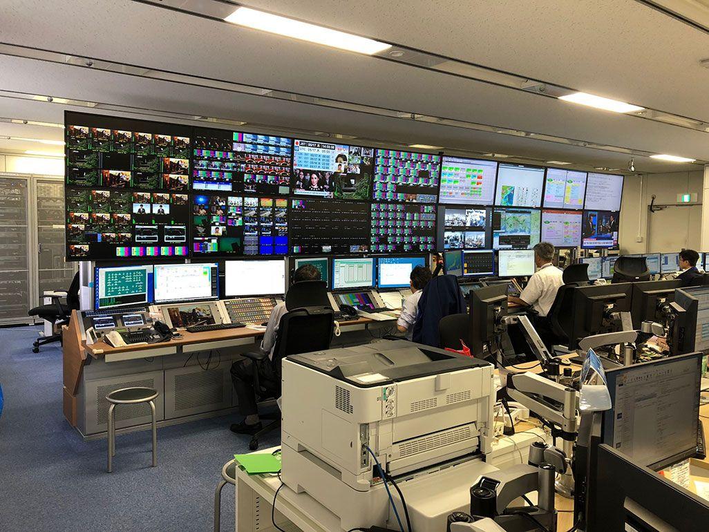 KDDI・東京の映像サービスセンター