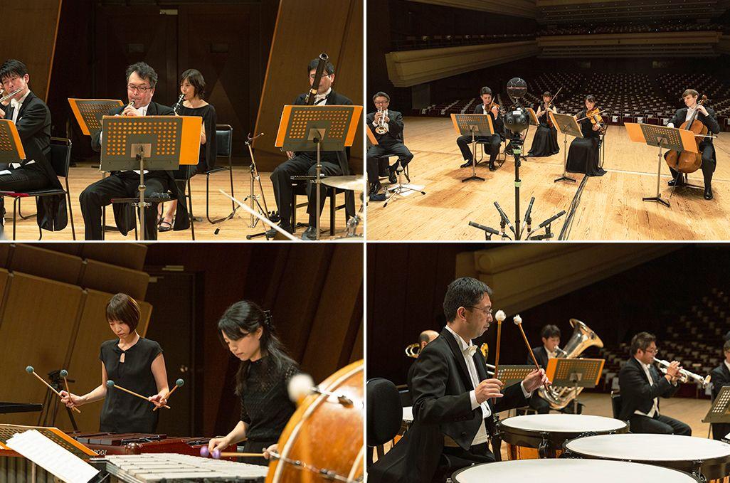 「ボレロ」を演奏する新日本フィルのメンバー