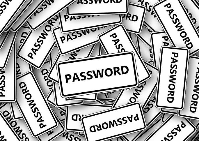 たくさんあるパスワードのイメージ