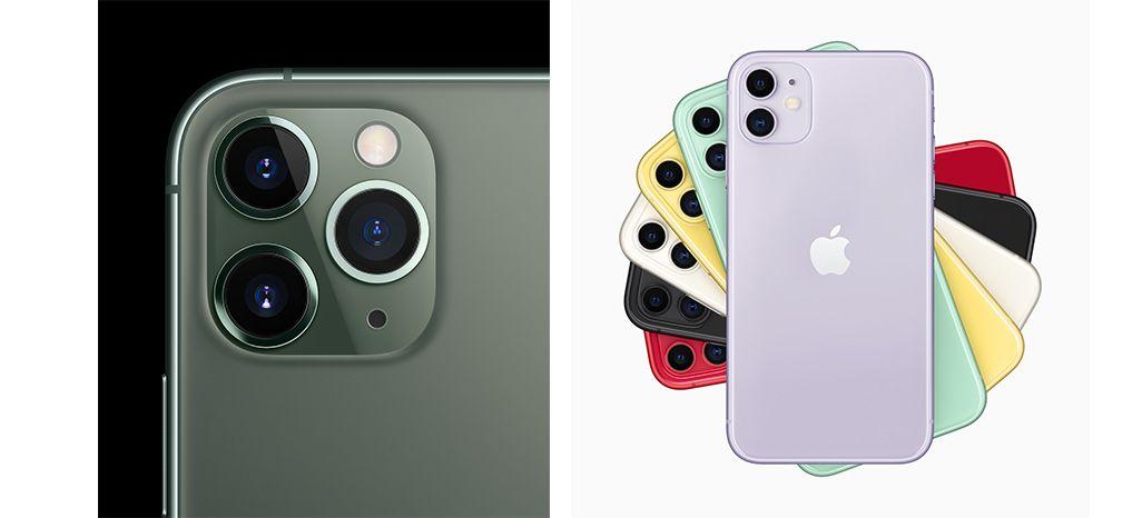 iPhone 11 ProとiPhone 11のカラーバリエーション