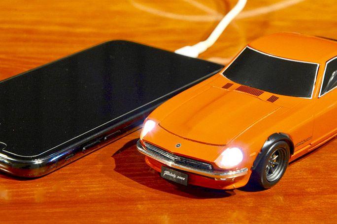 Cassette 日産フェアレディ 240Z 4500mAh モバイルバッテリー