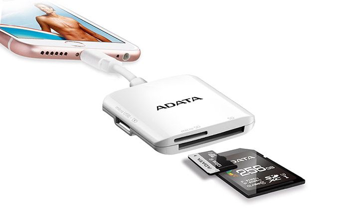 ADATA AI910 Lightning Card Reader Plus