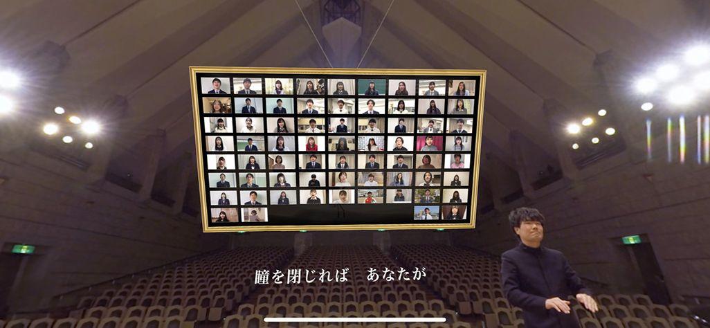 全国から「3月9日」のリモート合唱に参加してくれた高校生たち