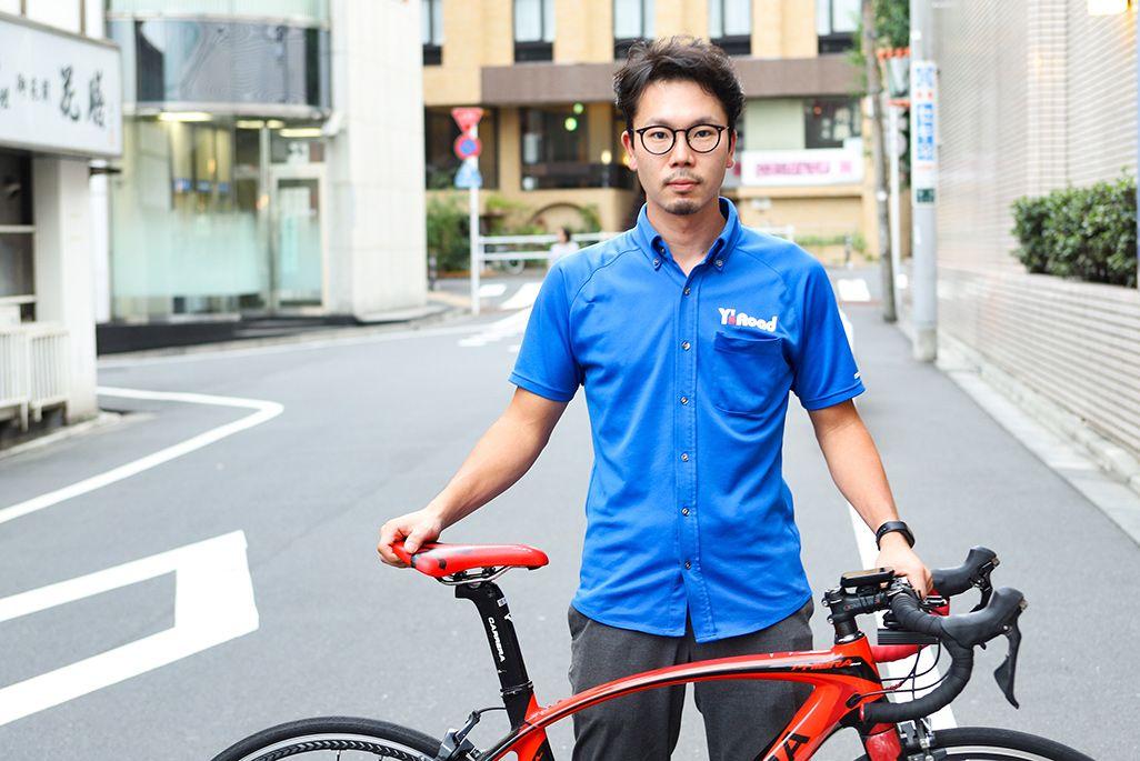 『ワイズロード 新宿本館』スタッフの宇野祐太朗さん