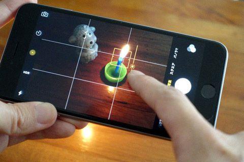 iPhoneのカメラで露出補正・調整をする方法