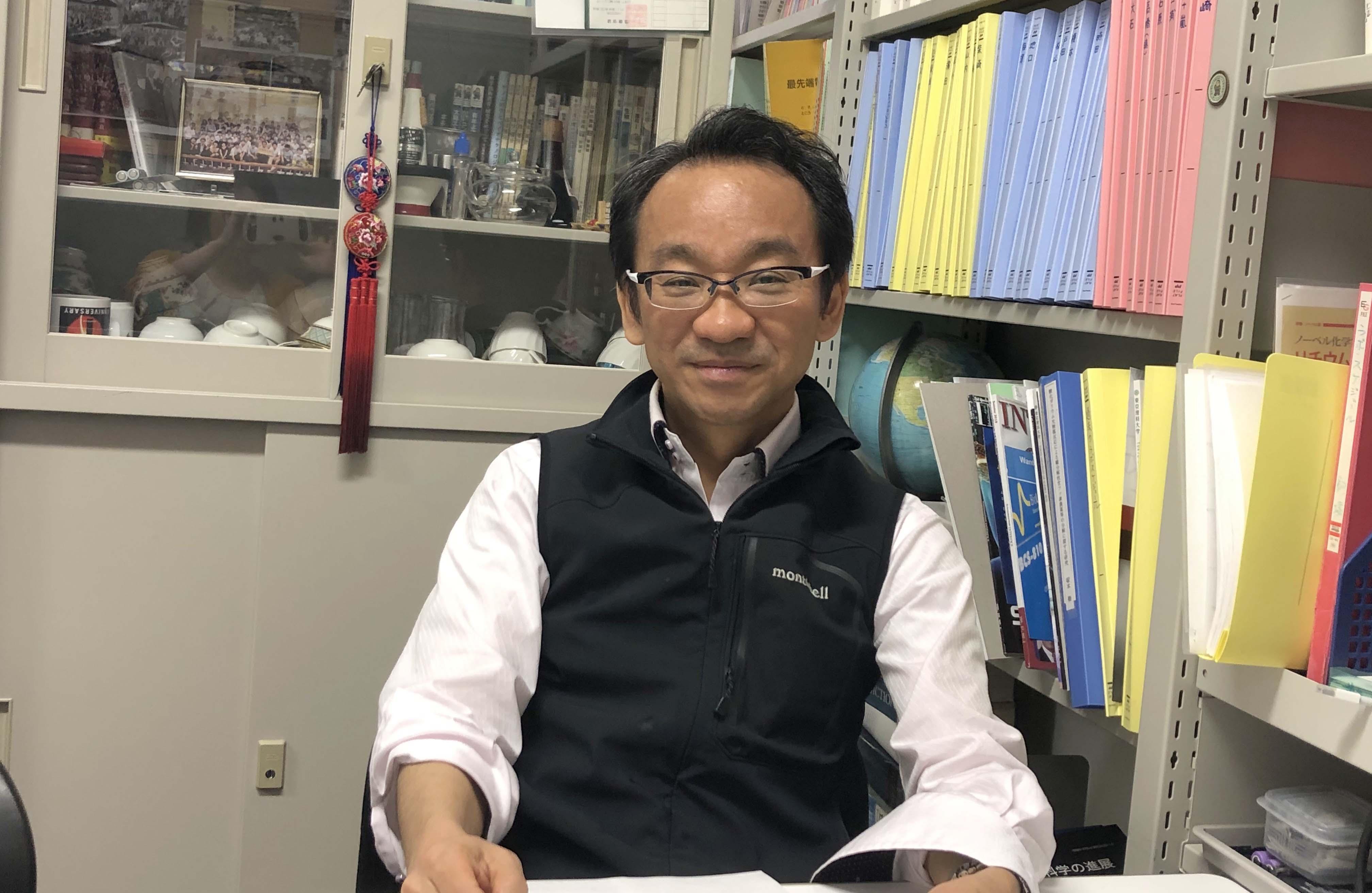 東京理科大学の駒場慎一教授