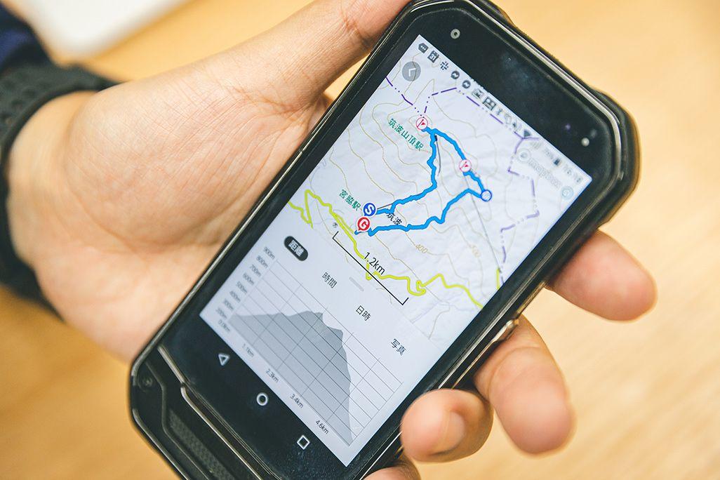 登山アプリ「YAMAP」