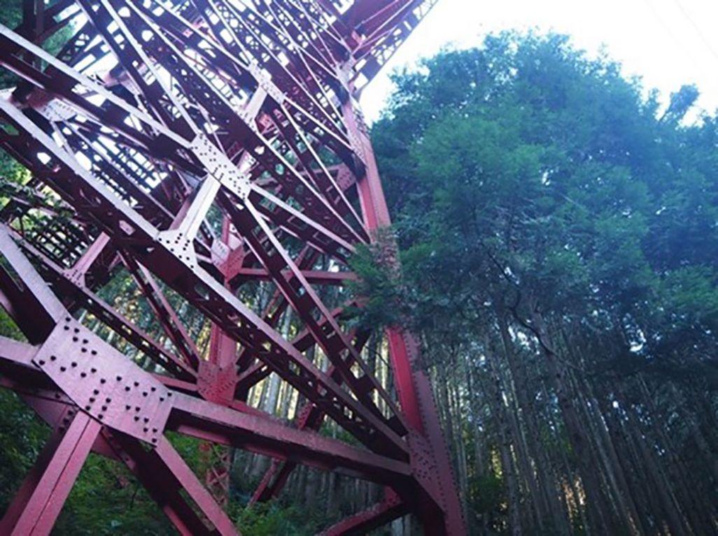 中古沢橋梁