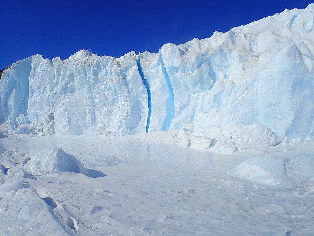 南極のハムナ氷爆