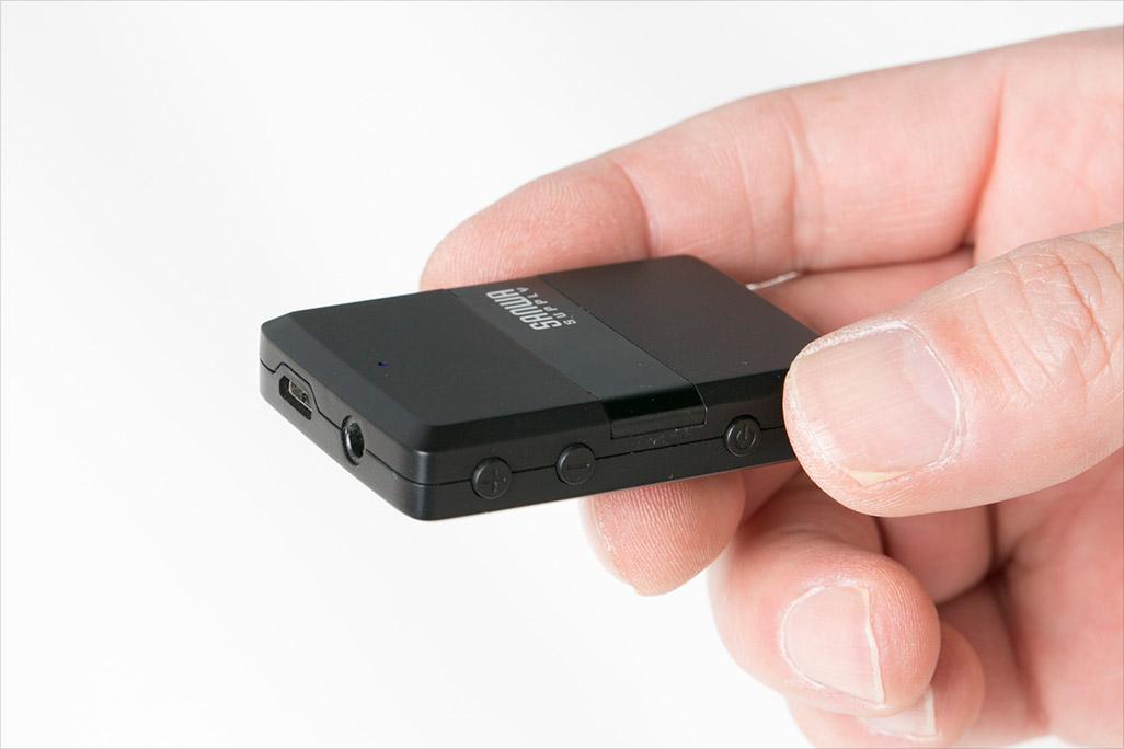 サンワダイレクト Bluetoothオーディオレシーバー&トランスミッター