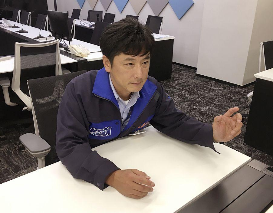 KDDIの遠藤晃